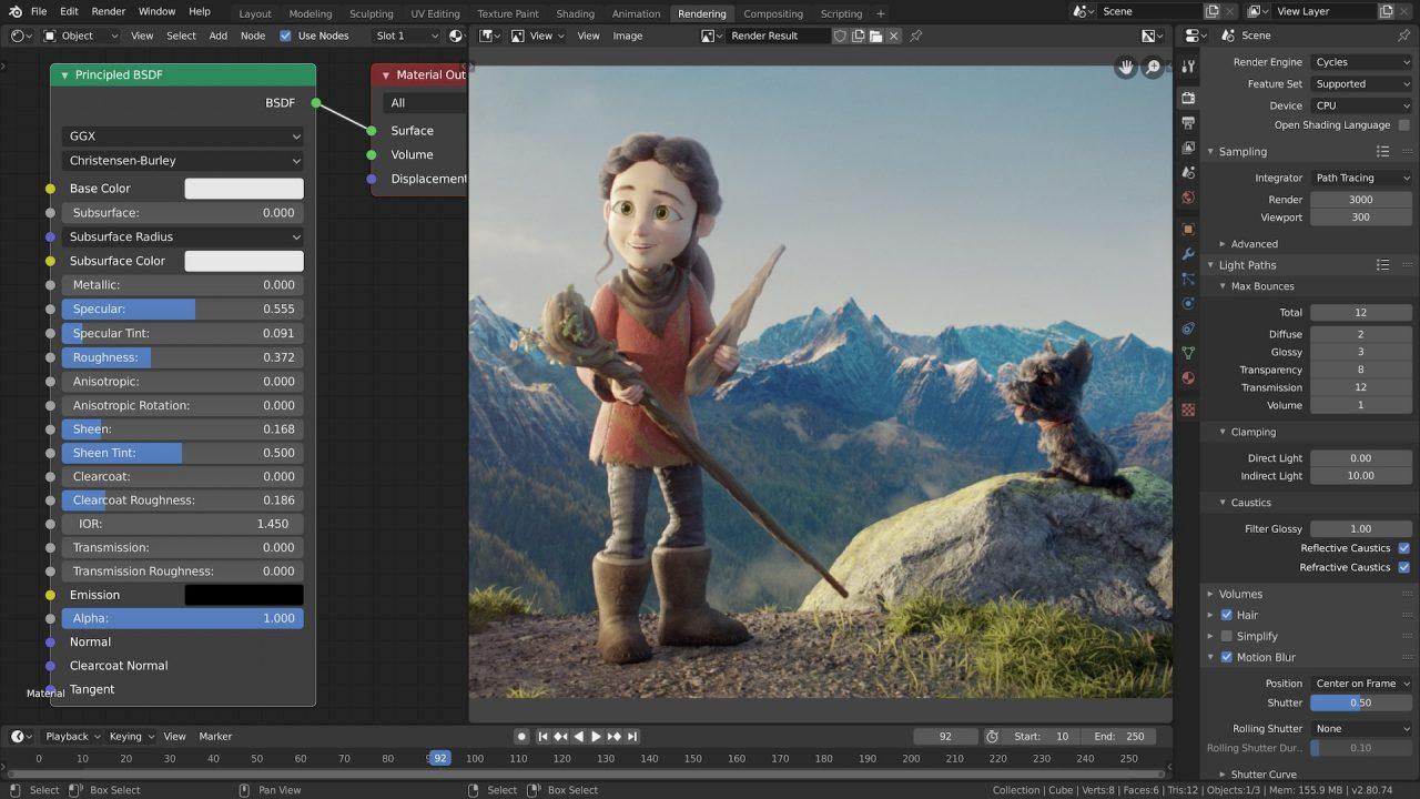 blender תוכנה לעיצוב סרטונים לקמפיינים