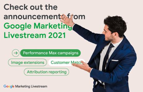 חידושים אחרונים בגוגל אדס: סיכום אירועי ה-Google Marketing Stream
