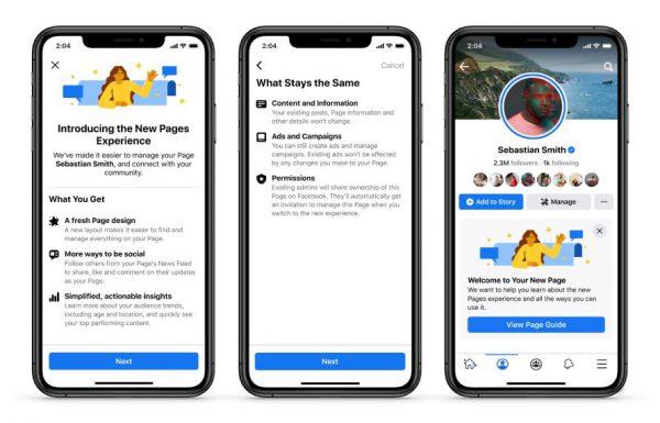 פייסבוק זונחת את ספירת הלייקים והצגתם בעיצוב המחודש של הדפים העסקיים