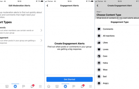 פיצ׳ר התראות engagement משתחרר בהדרגה לכל הקבוצות בפייסבוק